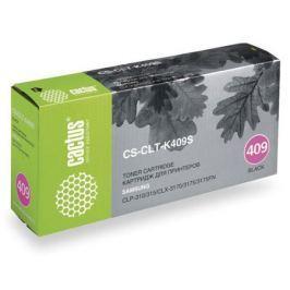 Тонер-картридж CACTUS CS-CLT-K409S для принтеров Samsung CLP-310/315; CLX-3170/3175/3175FN, черный, 1500 стр.