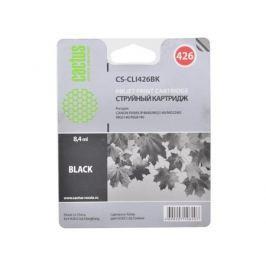 Картридж CACTUS CS-CLI426BK для Canon PIXMA MG5140/5240/6140/8140; MX884, черный, 8.4 мл