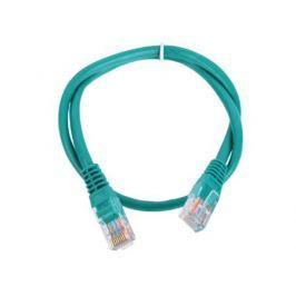 Патч-корд литой Aopen/Qust UTP кат.5е 0,5м зеленый (ANP511_0.5M_G)