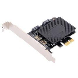 Контроллер ORIENT A1061SL, PCI-E v2.0 SATA 3.0 6 Gb/s, 2int port, поддержка HDD до 6TB, ASM1061 chipset, oem