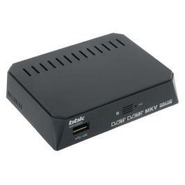 Цифровой телевизионный DVB-T2 ресивер BBK SMP132HDT2 темно-серый