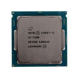 Процессор Intel Core i5-7400 OEM TPD 65W, 4/4, Base 3.0GHz - Turbo 3.5 GHz, 6Mb, LGA1151 (Kaby Lake)
