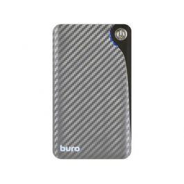 Портативное зарядное устройство Buro RA-11000 11000мАч серый/черный