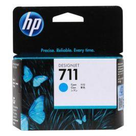 Картридж HP 711 с голубыми чернилами 29мл CZ130A