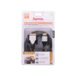 Кабель HDMI-DVI/D 1.8м позолоченные штекеры ферритовый фильтр черный H-54533