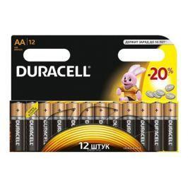 Батарейки DURACELL LR6-12BL BASIC (AA) блистер 12шт.