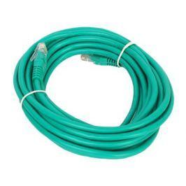Патч-корд литой Aopen/Qust UTP кат.5е 5м зеленый (ANP511_5M_G)