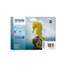 Картридж Epson Original T048740 (комплект) /для ST Ph R200/300/RX500/600