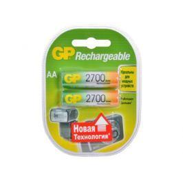 Аккумуляторы GP 2шт, AA, 2700mAh, NiMH (270AAHC)-UC2PET-G