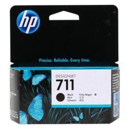 Картридж HP 711 с черными чернилами 38мл CZ129A