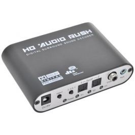 Аудио декодер ORIENT DAC0406 аудио декодер 5.1/2.1, Dolby Digital EX / DTS-ES / Dolby Pro Logic II / DTS / AC3