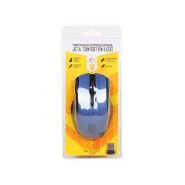 Беспроводная мышь Jet.A OM-U50G Blue Comfort (800/1200/1600dpi, 3 кнопки, USB)