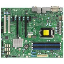 Материнская плата Supermicro MBD-X11SAE-O Socket 1151 C236 4xDDR4 2xPCI-E 16x 2xPCI 1xPCI-E 1x 8xSAT