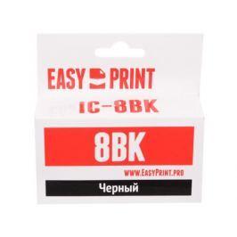 Картридж EasyPrint IC-CLI8BK для Canon PIXMA iP4200/5200/Pro9000/MP500/600. Чёрный. с чипом Картридж EasyPrint IC-CLI8BK для Canon PIXMA iP4200/5200/P