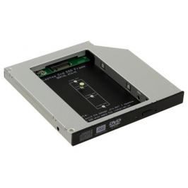 ORIENT UHD-2M2C12, Шасси для SSD M.2 (NGFF) для установки в SATA отсек оптического привода ноутбука 12.7 мм