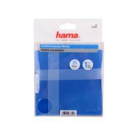 Конверты пластиковые HAMA для CD, 25 шт. в упаковке, цветные, H-33800