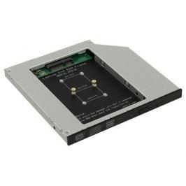 ORIENT UHD-2MSC9, Шасси для SSD mSATA для установки в SATA отсек оптического привода ноутбука 9.5 мм