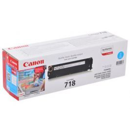 Картридж Canon 718 C для LBP-7200. Голубой. 2900 страниц.