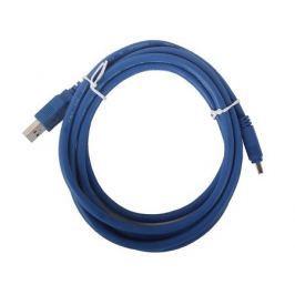 Кабель ORIENT MU-310, кабель USB 3.0 A-mini B USB 3.0 10pin (1.8м), синий