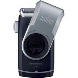 Бритва Braun MobileShave M90 серебристый чёрный
