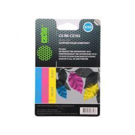 Заправка Cactus CS-RK-CZ102 для HP DeskJet 2515/3515 цветной 90мл