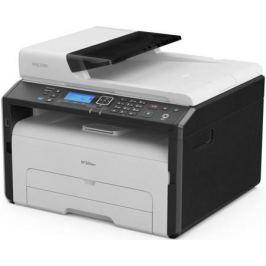 МФУ Ricoh SP 220SNw (картридж 700стр.) (копир-принтер-сканер, ADF, 23стр./мин., 1200x600dpi, LAN, WiFi, NFC, A4)