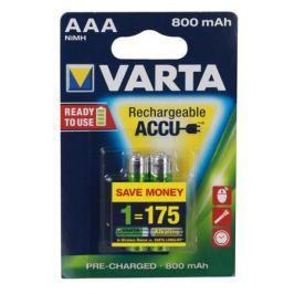 Аккумулятор VARTA Ready2Use AAA 800 мА-ч бл 2 56703101402