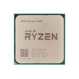 Процессор AMD Ryzen 5 1600 OEM 65W, 6C/12T, 3.6Gh(Max), 19MB(L2-3MB+L3-16MB), AM4 (YD1600BBM6IAE)