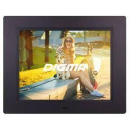 Цифровая фоторамка Digma PF-833 черный 8