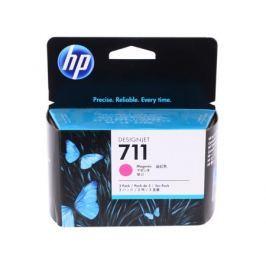 Набор картриджей HP CZ135A для T120/T520. Пурпурный. 3*29 мл. (№711)