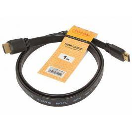 Кабель HDMI TV-COM 19M/M 1.4V плоский 1m (CG200F-1M)