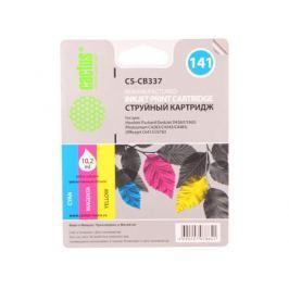 Картридж Cactus CS-CB337 №141 (трехцветный) для HP DeskJet D4263/D4363/D5360; OfficeJet J5783/J6413; C4273/C4283/C4343/C4383/C4473/C4483/C4583/C528