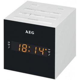 Часы с радиоприёмником AEG MRC 4150 белый