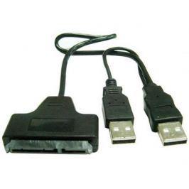 Адаптер-переходник Gembird USB 2.0 - SATA 7+15 pin для 2.5