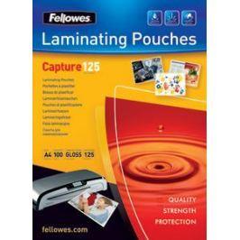 Плёнка для ламинирования Fellowes (53069) 75х105 мм, 125 мкм, глянцевая, 100 шт.