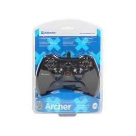 Геймпад проводной Defender Archer USB-PS2/3, 12 кнопок, 2 стика