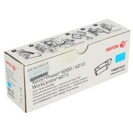 Картридж Xerox 106R01631 для Phaser 6000/6010. Голубой. 1000 страниц.