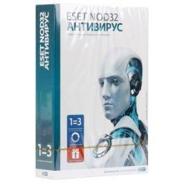 ESET NOD32 Антивирус + расширенный функционал - универсальная лицензия на 1 год на 3ПК или продление на 20 месяцев (NOD32-ENA-1220(CARD3)-1-1)