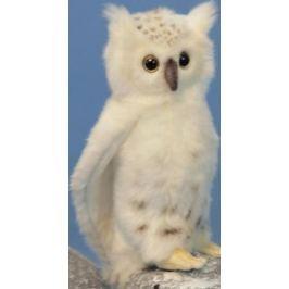 Мягкая игрушка Hansa Сова белая, 18 см 6155