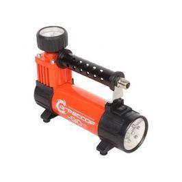 Компрессор автомобильный Агрессор AGR-30L, металлический, 12V, 140W, производ-сть 30 л./мин., LED фонарь, сумка, 1/8