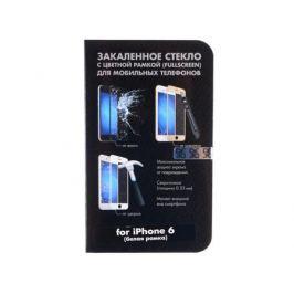 Защитное стекло для Apple iPhone 6 с цветной рамкой, DF DFiColor-03(white)