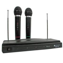 Микрофон Defender MIC-155 2 Беспроводых микрофона