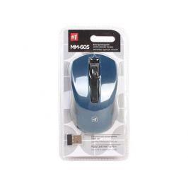 Беспроводная оптическая мышь Defender MM-605 синий,3 кнопки,1200dpi