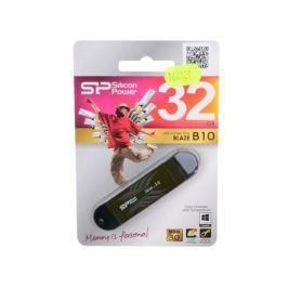 USB флешка Silicon Power Blaze B10 32GB (SP032GBUF3B10V1B)