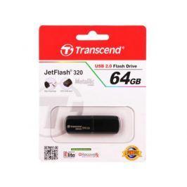 USB флешка Transcend Jetflash 320K 64GB (TS64GJF320K) USB 2.0 / 15 МБит/сек / 5 МБ/сек