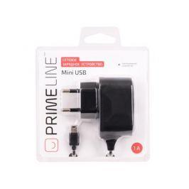 Сетевое зарядное устройство Prime Line mini USB, 1A, черный