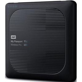 Внешний жесткий диск WD My Passport Wireless Pro 2Tb Black (WDBP2P0020BBK-RESN)