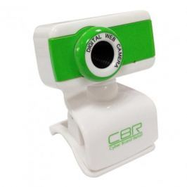 Камера интернет CBR CW-832M Green, универс. крепление, 4 линзы, 1,3 МП, эффекты, микрофон,