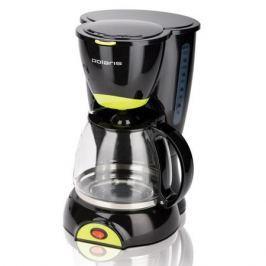 Кофеварка POLARIS PCM 1211, Черный/салатовый