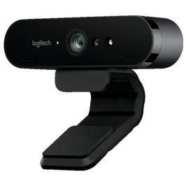 Веб-камера Logitech Webcam BRIO 4K 4096x2160, 90 градусов, микрофон, подсветка, USB
